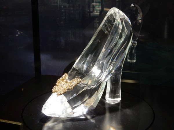 Cinderella Swarovksi glass slipper