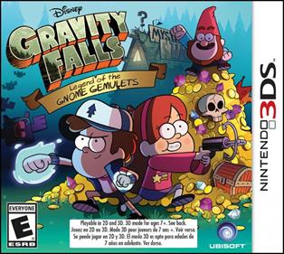 Rom Gravity Falls Legend of the Gnome Gemulets 3DS
