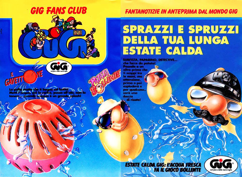 Crocodile Mile, Il Gavettone, Super Liquidator e altri giochi estivi degli anni 80 e 90.