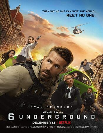 (FREE DOWNLOAD) 6 Underground (2019) | Engliah | full movie | hd mp4 high qaulity movies