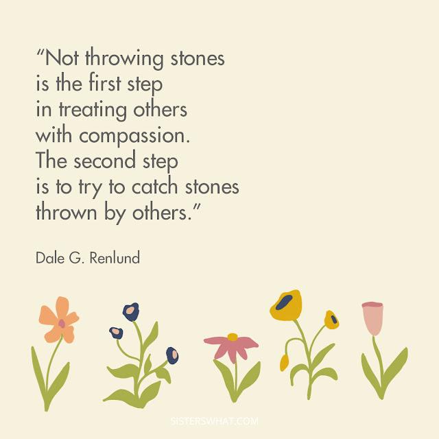 Elder Renlund stone catcher lds quotes