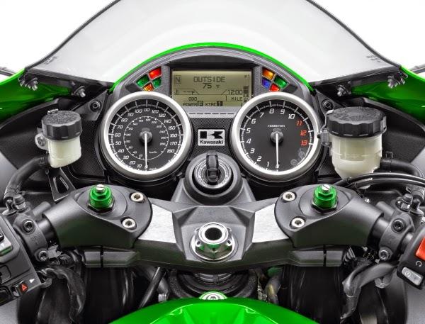 Kawasaki ZX-14R - Skim Warna Baru 2015
