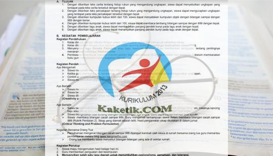 India Penulisan RPP 1 Lembar Edisi Revisi 2020 2021 Arahan Mendikbud dan Inilah Contoh RPP K-13 SD hanya satu Lembar Kaketik.com Penulis Artikel Romansyah