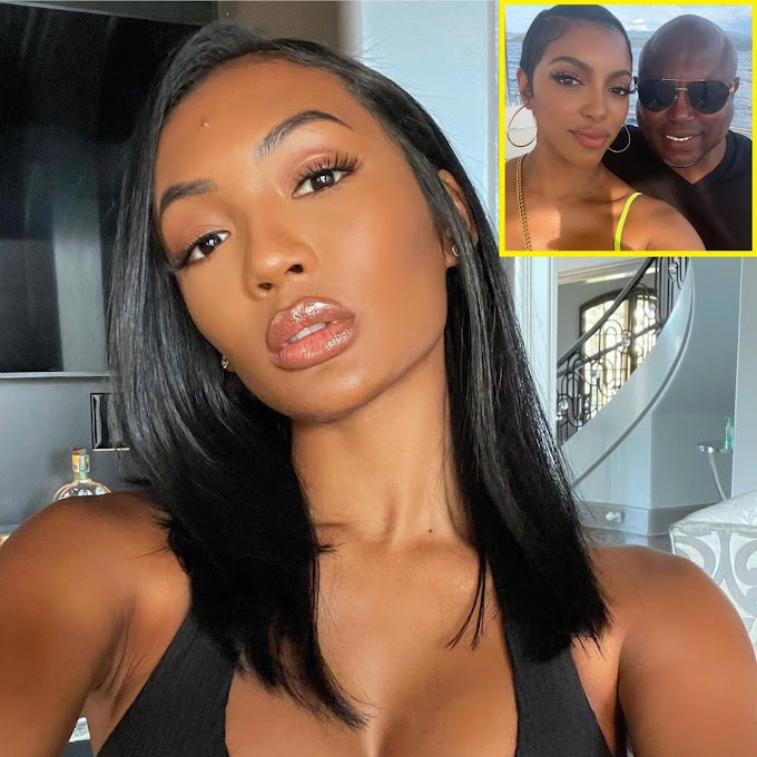 Falynn Guobadia Breaks Silence On Porsha Williams Engagement To Her Estranged Husband Simon Guobadia!