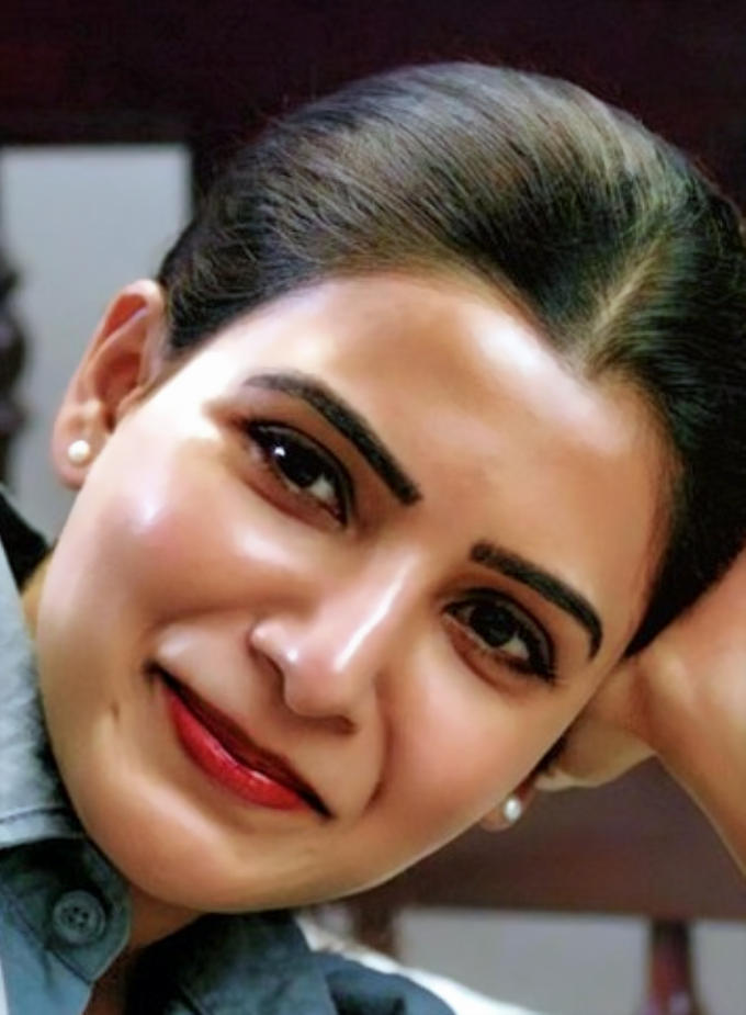 Samantha Akkineni Beautiful HD Mobile Wallpaper