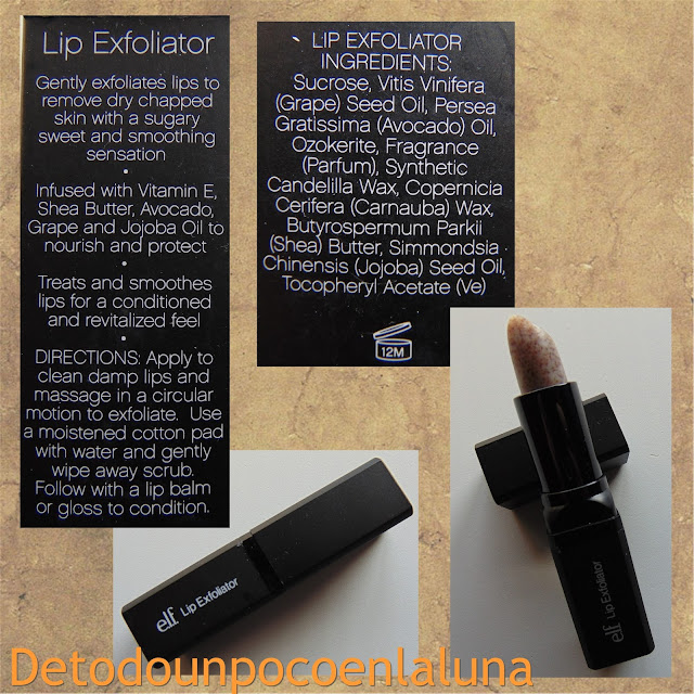 exfoliante labial elf
