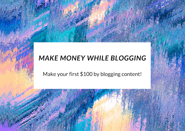 Make money by blogging content of your own online for your readers and fans. Extra income is always a good buffer to have on top of your daily full time job.