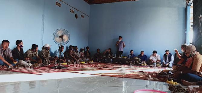 7 kecamatan tanjabar bentuk tim relawan haris-sani