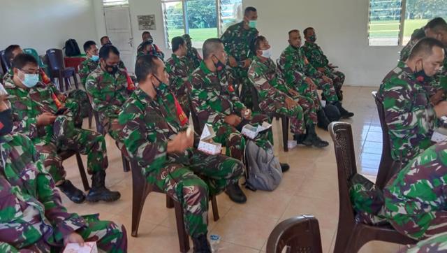 Personel Jajaran Kodim 0207/Simalungun Laksanakan Kegiatan Binsiap Apwil dan Puan Ter