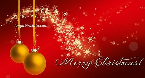 ucapan selamat natal bahasa inggris