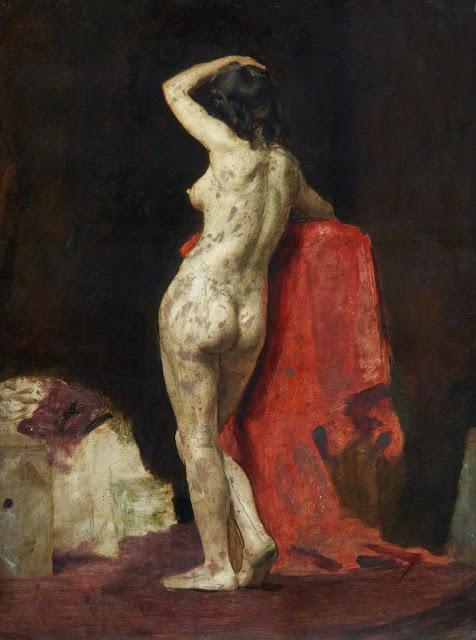 Thomas Alexander Ferguson Graham, Artistic nude, The naked in the art, Il nude in arte, Alexander Ferguson Graham, Fine art, Thomas Alexander Ferguson