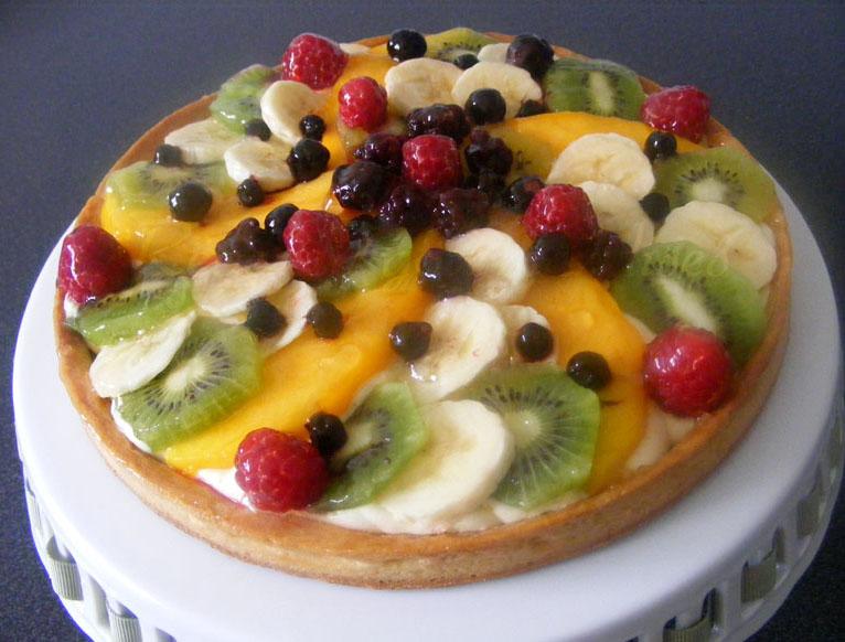 r ve de gourmandises 2 tarte multifruits cr me chiboust au citron. Black Bedroom Furniture Sets. Home Design Ideas