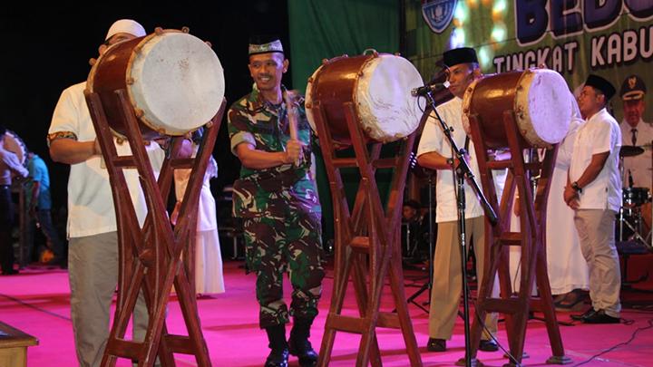 Forkopimda Cilacap Sambut Idul Fitri 1440 H Dengan Menggelar Festival Tabuh Bedug