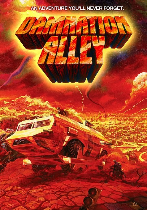 1977 Movie poster for Damnation Alley