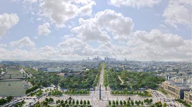 Recorrido virtual por el 'jardín extraordinario' que transformará los Campos Elíseos