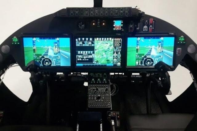 Agusta Westland AW609 cockpit