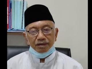 Ketua Panitia Wisuda dan Milad Drs H Arfah Bas'ha, M. Pd. I