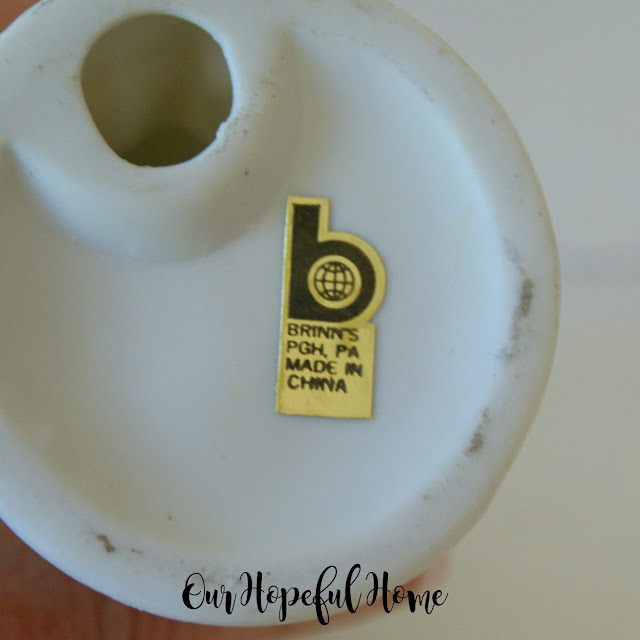 gold label Brinn's PGH PA Made in China