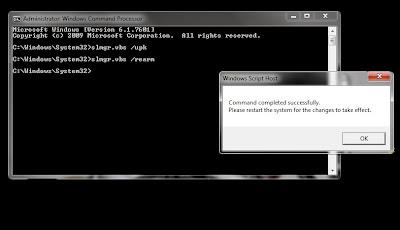 aktivasi windows 7 build 7601