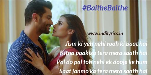 Baithe Baithe - Angad Bedi, Mouni Roy pics | Images | Photos | Quotes | Lyrics