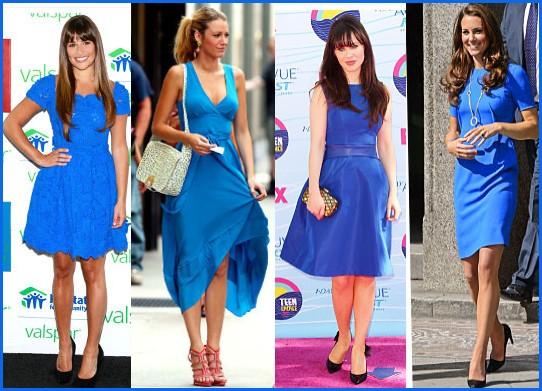 ... colore scarpe sotto vestito blu c9408bd5520
