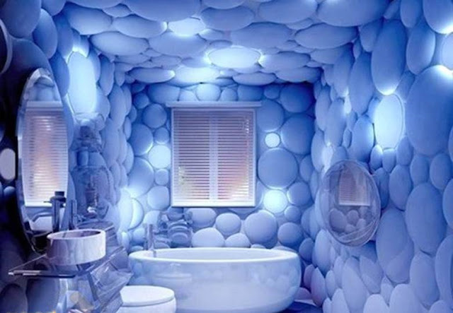PVC 3D decorative panels for bathroom wall decor ideas