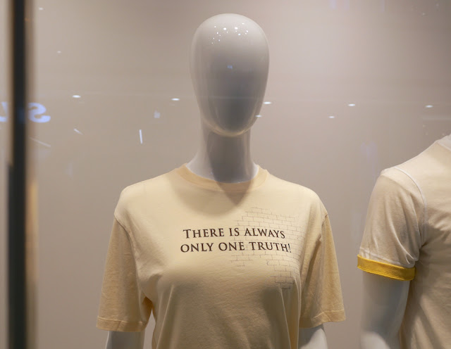 """""""There is Always Only One Truth"""" Uniqlo shirt"""
