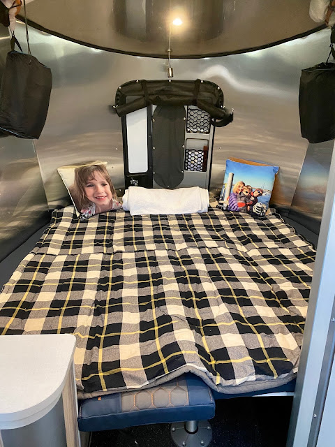 Airstream Basecamp tiny trailer camping