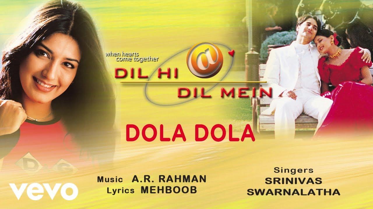 Dola Dola Lyrics Dil Hi Dil Mein Ft Sonali Bendre
