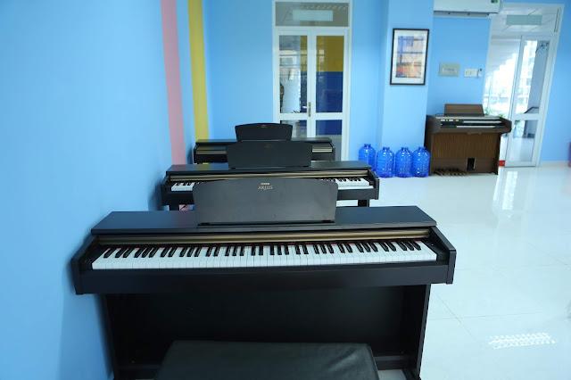 hòng học piano 1 - Trường nhạc SMS quận 2 - Cơ sở 3