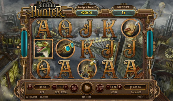 Main Gratis Slot Indonesia - London Hunter Habanero