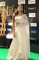 Prajna Actress in backless Cream Choli and transparent saree at IIFA Utsavam Awards 2017 0116.JPG