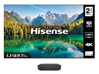 Hisense screen and projector