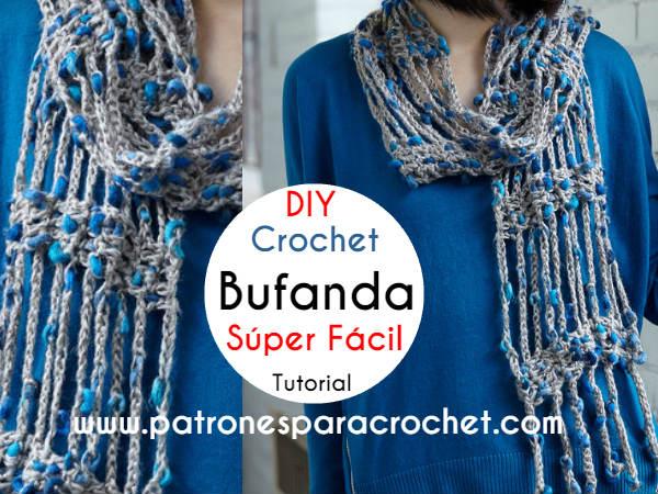 tutorial-bufanda-crochet-para-principiantes