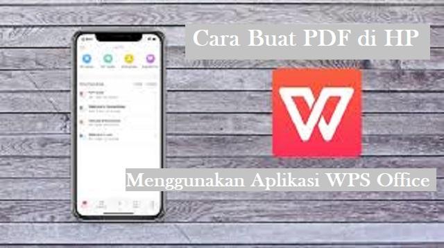 Cara Buat PDF di HP