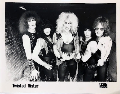 Twisted Sister... first promo band pic with Atlantic Records