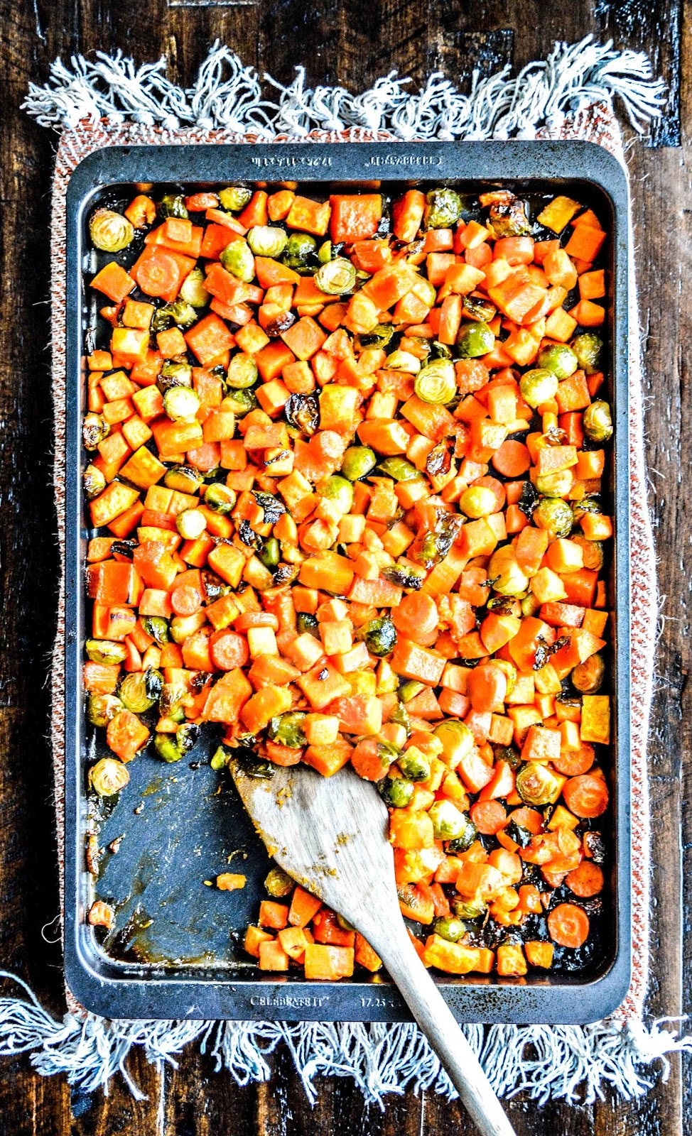 Maple Glazed Roasted Vegetables