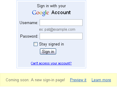 A New Sign-in Page for Gmail is On its Way! 2
