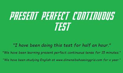 Soal Latihan Present Perfect Continuous Tense Paling Jitu