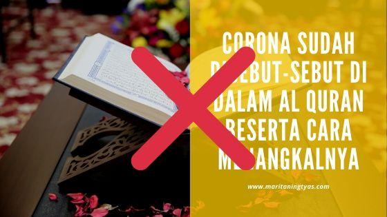 berita hoax corona disebut di dalam al quran