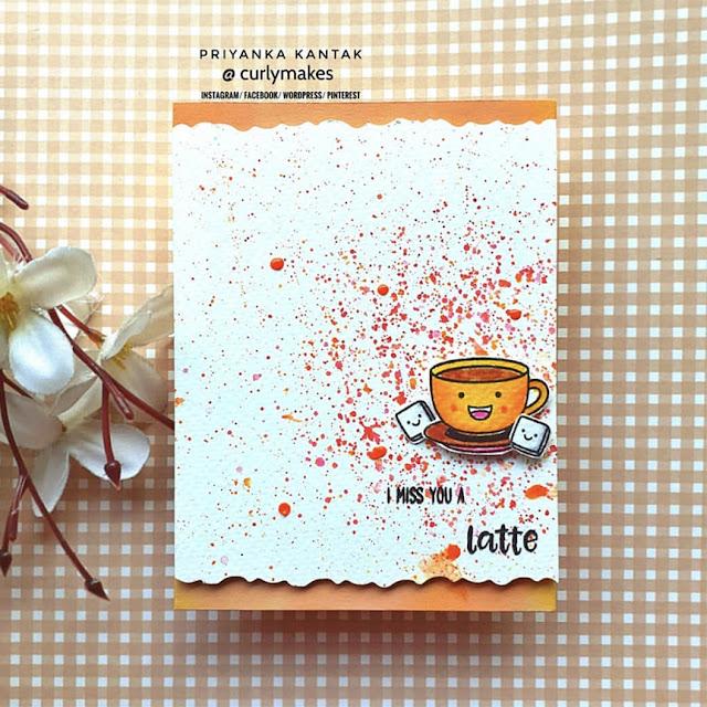 Sunny Studio Stamps: Breakfast Puns Customer Card by Priyanka Kantak
