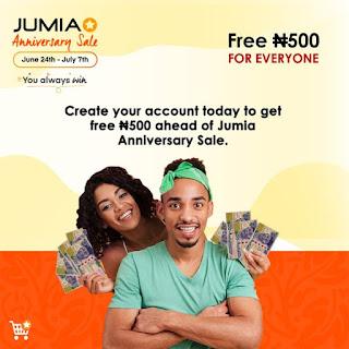 Jumia anniversary promo