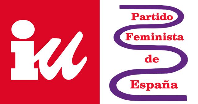 IU expulsa al Partido Feminista de España de su organización política