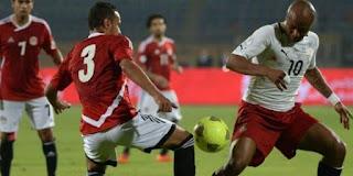 مباراة مصر وغانا