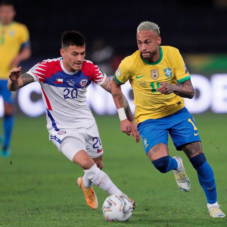 Brasil y Chile en Copa América 2021, 2 de julio