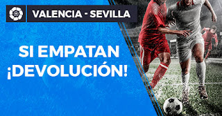Paston devolucion liga Valencia vs Sevilla 30-10-2019