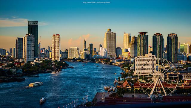 10 Destinasi Wisata  Di Bangkok Yang Wajib Dikunjungi - Sungai Chao Phraya