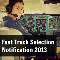 Fast Track Selection Notification for Indian Air Force Flying Branch 2013- 2014