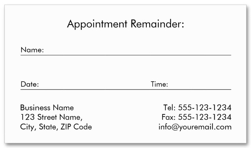A designers journal black canvas dental cards golden tooth appointment card colourmoves