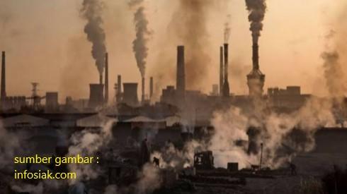 pencemaran yang dihasilkan dari pengolahan batu bara